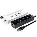 [哈GAME族]可刷卡●伽利略 U3H04G USB3.0 Type-A 4埠 HUB 線長120公分 相容USB 3.1/2.0/1.1