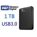 WD Elements 1T 1TB 2.5吋 行動硬碟 USB3.0 2年保固 ( WESN )