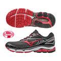 【登瑞體育】MIZUNO 男款寬楦慢跑鞋 黑紅/支撐型/低足弓/輕量/平穩/寬楦/大腳 J1GC174561