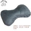 竉物狗骨頭睡枕、抱枕、多功能枕、造型枕-藍色麂皮 台灣製(L)款 55CM x 35CM x 6CM