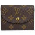 【9成新】Louis Vuitton LV M60253 Helene 經典花紋零錢短夾 #686現金價$11,800