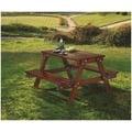 【TM124-3】玫瑰木實木啤酒桌(KD)#AR-031