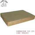 寵物睡墊 竉物床 竉物床墊-典雅咖啡色麂皮台灣製(M)款 80CM x 55CM x 8CM 可拆洗