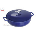 Staub 鑄鐵鍋 魚鍋 28cm 4.65L 藍 #40510-326