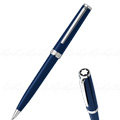 《 萬寶龍 PIX 鉑金夾 深藍 原子筆 - 114810 》 德國 MONT BLANC
