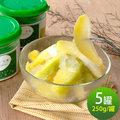【盧家芒果】情人果冰x5罐(250g/罐)