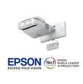 高傳真音響【EPSON EB-680】XGA超短焦反射式投影機【3500流明】【免運】47cm打80吋畫面