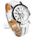 Snoopy 史努比 女錶 兒童錶 卡通錶 學生錶 史奴比 可愛圖案 防水手錶 數字錶 白 D史努比白E