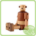 ﹝康寶婦嬰﹞韓國Soopsori全腦開發.原粹木積木-機器人