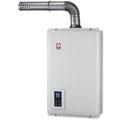 《日成》櫻花牌浴SPA16L數位恆溫.水量伺服器.強制排器熱水器 SH-1670F