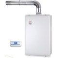 《日成》櫻花牌16L數位恆溫.水量伺服器+低Nox.強制排器熱水器 SH-1691