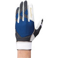 「野球魂」--日本「MIZUNO」【Global Elite】等級守備用手套(1EJED11014,白×深藍色)左手用