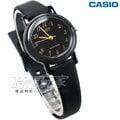 CASIO卡西歐 LQ-139AMV-1L 復古數字小圓錶 橡膠錶帶 黑x金色 LQ-139AMV-1LDF 防水手錶 兒童 女錶