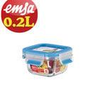 【德國EMSA】專利上蓋無縫頂級玻璃保鮮盒德國原裝進口 (保固30年) (0.2L)