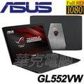 ★【 ASUS華碩 】ROG電競 GL552VW-0061A6700HQ (i7-6700HQ / FHD IPS / GTX 960M獨顯2G/1T+128 SSD)