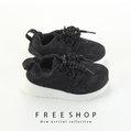 Free Shop 童鞋款透氣素色慢跑鞋 速乾彈力超柔軟止滑超好穿 (FNB43)【QSH0651】