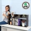 【居家大師】低甲醛防潑水粉彩置物書架(3色) 書櫃 收納架 置物架 層架 桌上架 雜誌架 書報架 B-HD-BO004