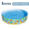 【美國INTEX】戲水系列-海洋圖案免充氣泳池183x38cm / 戲水池 / 游泳池(圖案款式隨機出貨)(56452)