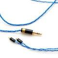 志達電子 Cang Blue(蒼藍) OHFC無氧高傳導銅線蕊 IE80 W60 SE535 TF10 IM50 UMPRO 耳機升級線