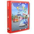 POLI 城市場景遊戲書-市政廳(附一台合金車)