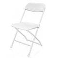 [歐巴馬就職指定用] 耐衝擊X02折疊椅/白色/折合椅/塑鋼椅/會議椅/課桌椅/辦公椅/洽談椅/戶外椅