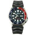SEIKO WATCH 精工深海潛將水鬼王可樂紅藍圈200米潛水矽膠帶自動上鍊機械腕錶 型號:SKX009K【神梭鐘錶】
