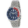 SEIKO WATCH 精工深海潛將水鬼王可樂紅藍圈200米潛水鋼帶自動上鍊機械腕錶 型號:SKX009K2【神梭鐘錶】