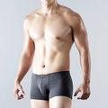 ELLE HOMME 彈性四角褲 《2件》【中揚精品】E85174