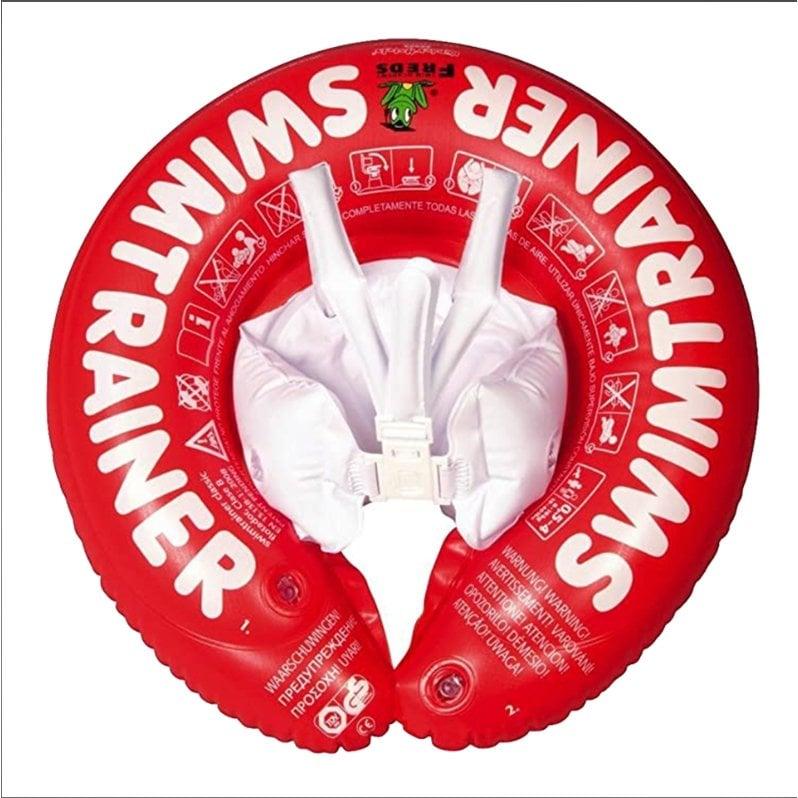 ★衛立兒生活館★德國SWIMTRAINER Classic Freds兒童學習游泳圈 0-4歲 (8-18kg)【紅色】
