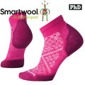【SmartWool】女 PhD輕量減震型跑步短襪美麗諾羊毛襪/戶外襪/機能排汗襪/健行襪★滿額送好禮★Run SW0SW211-906魔藥粉