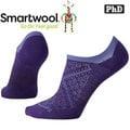 SmartWool 女 PhD跑步超輕隱形襪美麗諾羊毛襪/戶外襪/機能排汗襪/健行襪Run SW0SW185-591山嵐紫