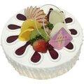 [千家軒]父親節蛋糕-藍莓漿果6吋(巧克力蛋糕+水蜜桃+布丁)