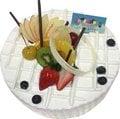 [千家軒]父親節蛋糕-榎芋6吋(香草蛋糕+芋泥+水果)