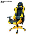 B.Friend GC03 電競專用椅 電競椅 賽車椅 - 黑黃(本產品為DIY 自行組裝產品)