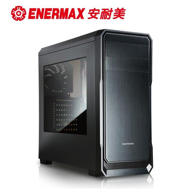 保銳 ENERMAX 電腦機殻 黑 Ostrog Lite 黑魅武士 ECB3080