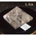 白水晶金字塔~底約5.6cm