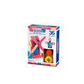 【紫貝殼】『CGA30-2』【美國B.Toys感統玩具】Battat BB鬃毛積木 36pcs【店面經營/可預約看貨】