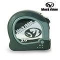 【美國黑犀牛Black Rhino】專業手工具 台灣製造 Dual/Metric Tape 25英呎7.5M 雙面捲尺#024