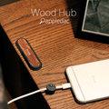 [iphone][安卓]磁力 木頭集線器 iphone 原廠充電線 原廠傳輸線 充電線 傳輸線 i phone 傳輸充電線 理線器 木頭 集線器