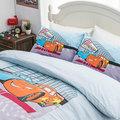 床包 / 單人【Cars閃電麥坤賽車篇】混紡精梳棉 單人床包含一件枕套 AAN101