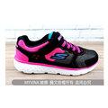 【MYVINA 維娜】SKECHERS 童鞋 運動鞋 跑步鞋 休閒鞋 輕量 舒適 女童系列 81358LBKHP