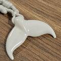 FREEDIVING PLANET - 魚尾造型項鍊 - White Bone象牙白/純天然手工