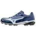 「野球魂」--「MIZUNO」【SELECT 9】系列低統樹脂底膠釘鞋(11GP172040,寶藍×白色)