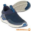 【美國 MERRELL】男新款 1SIX8 MOC 超輕量戶外透氣休閒鞋.慢跑鞋.健走鞋/Fresh抗菌防臭.Grip耐磨抓地鞋底.EVA中底鞋墊 J91931