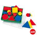 【大幾何邏輯板 Deluxe Attribute Blocks】☆兒童數學教具☆幾何形狀學習必備☆MIT台灣製造
