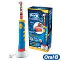 ◤贈護理牙膏+牙線棒◢ 【德國百靈BRAUN】歐樂B 迪士尼充電式兒童電動牙刷 D10 閃電麥坤