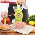 手動絞肉機家用小型手搖灌香腸機絞菜攪碎肉不銹鋼刀3C生活館