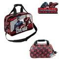 出口歐洲Captain America Civil War 美國隊長3 英雄內戰款旅行袋/運動袋(兒童適用)宮網同步~