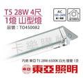 ★卡樂購物★TOA東亞 FS28143SEA T5 28W 1燈 6500K 白光 全電壓 山型日光燈  TO450082