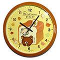 拉拉熊 時鐘 掛鐘 靜音 日本帶回正版商品 Rilakkuma